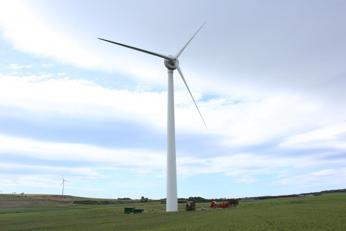 Establishment of Eolian Three and Acquisition of Peattie Wind Farm