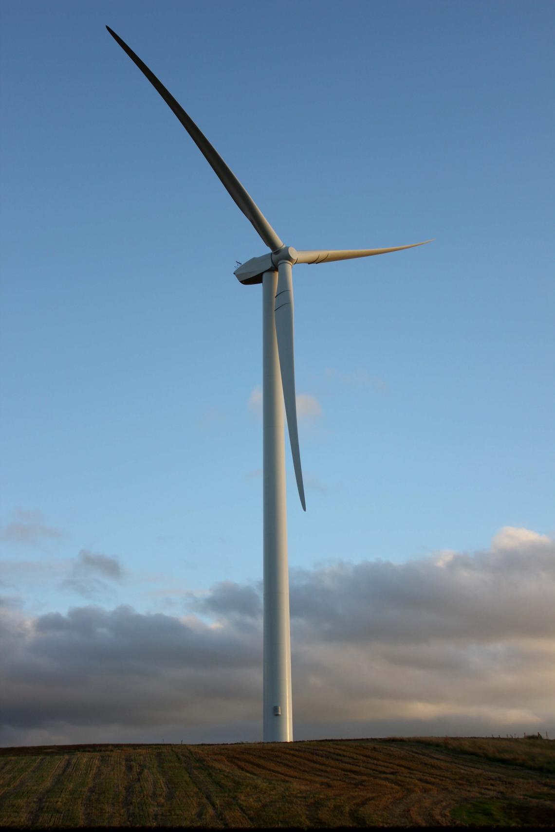 Establishment of Eolian Three and Acquisition of Peattie Wind Farm