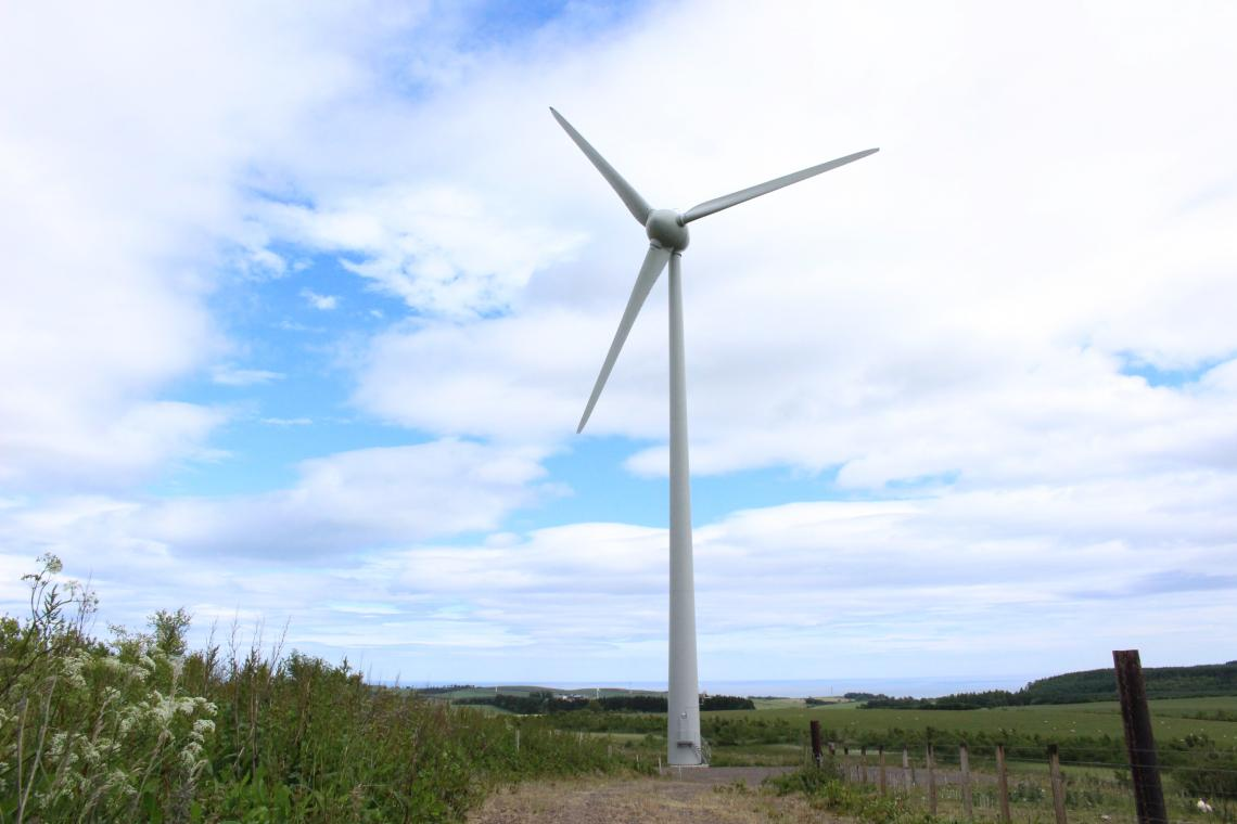 Acquisition of the Denmoss Wind Turbine